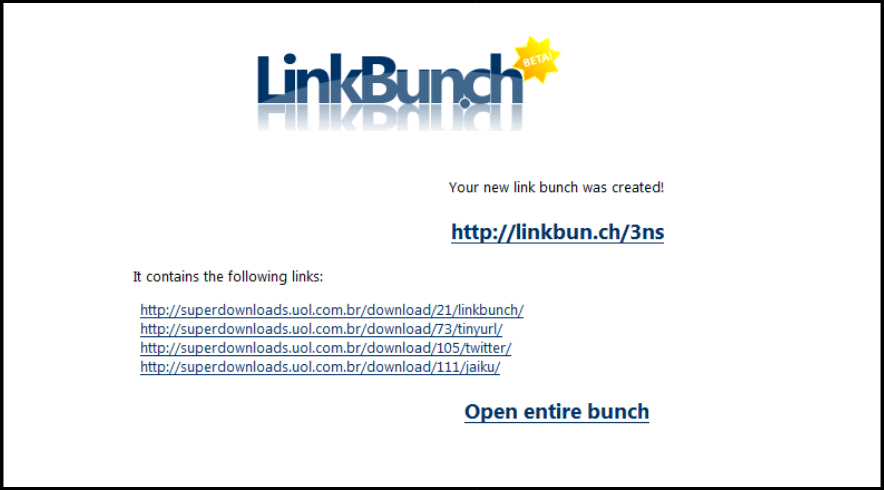 LinkBunch: Amazing Tool to Put Multiple Links Into 1 Link 2