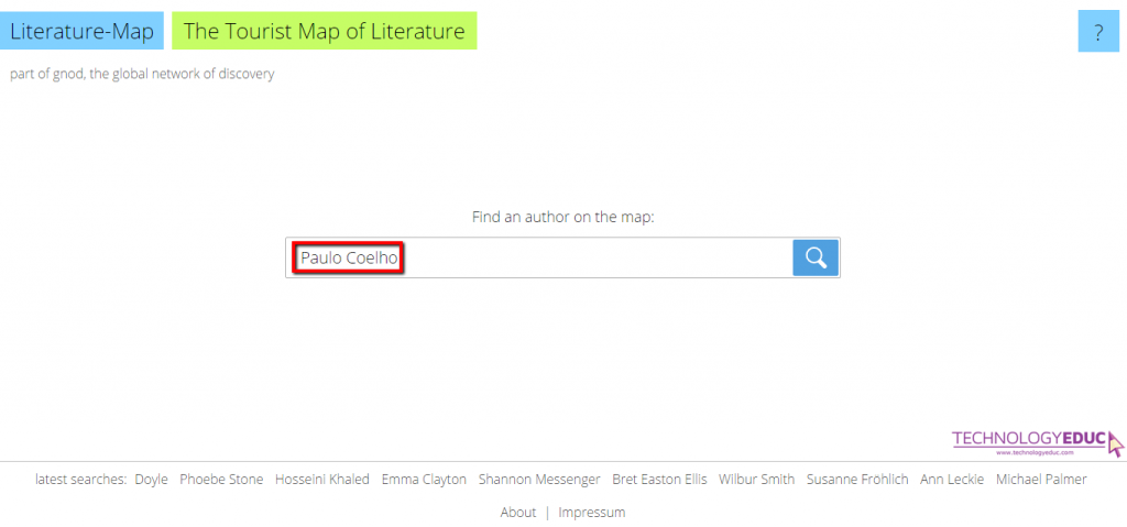 Literature-Map: Amazing Tool for Finding Authors 1