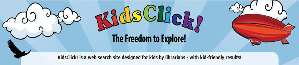 Kidsclick Kids Search Engine-header