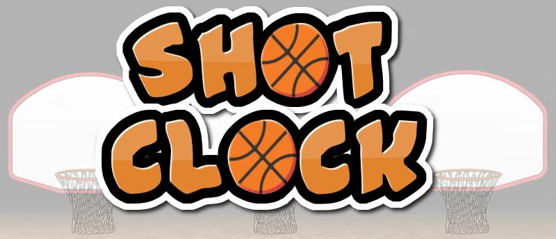 Shot Clock Math Basketball Game