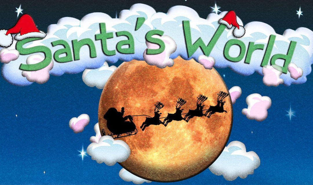Santa's World App: Amazing & Free Christmas App For Kids