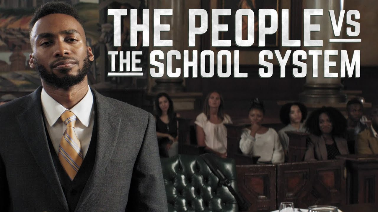 I just sued the school system by Prince Ea