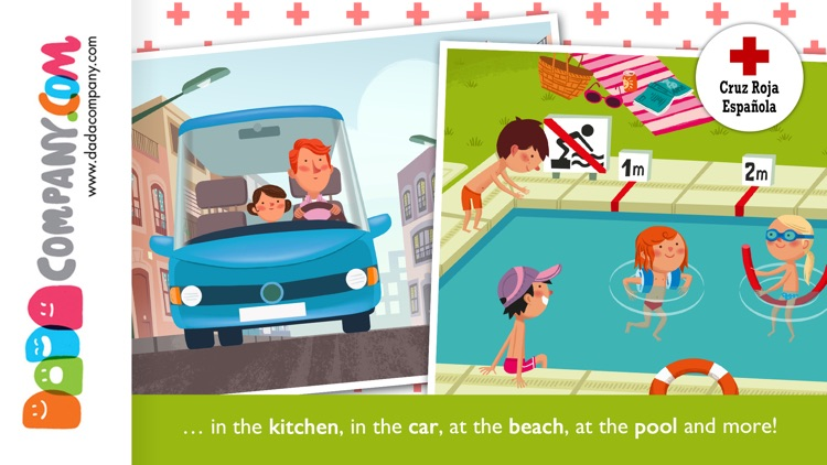 RED CROSS App for kids