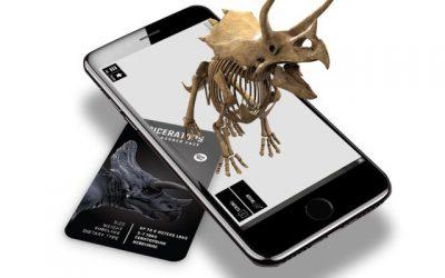 Dinosaurs 4D+: AR Dinosaurs App