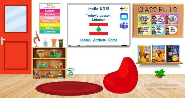 bitmoji preschool classroom