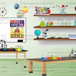 bitmoji science lab
