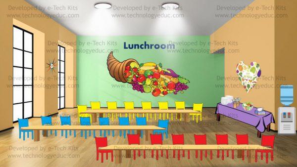 bitmoji lunchroom template