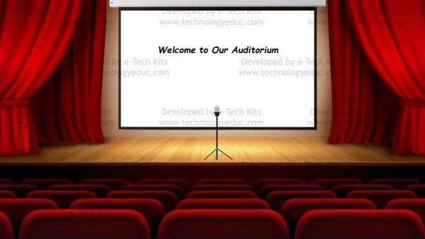 bitmoji auditorium template