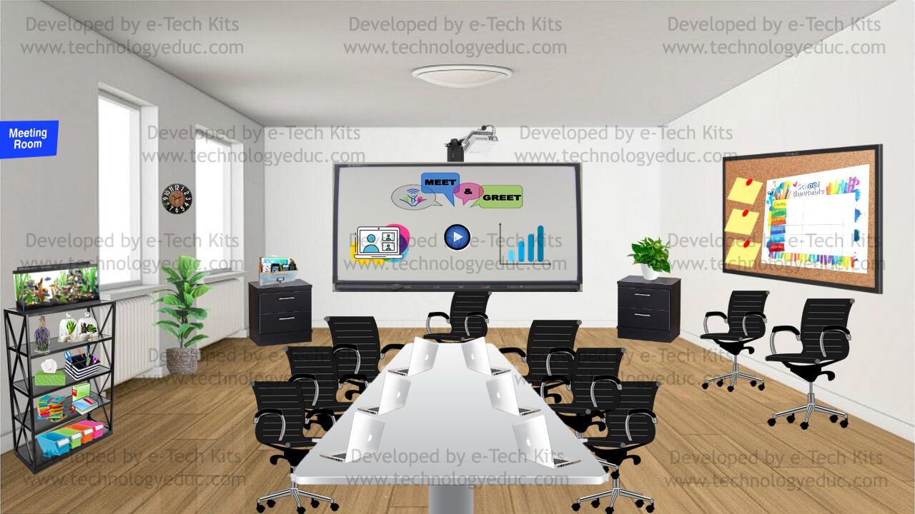 bitmoji meeting room template