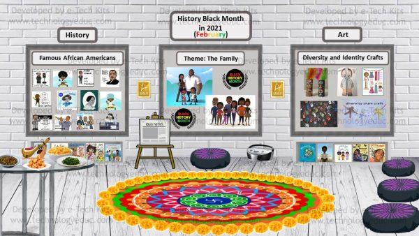 bitmoji black history month template
