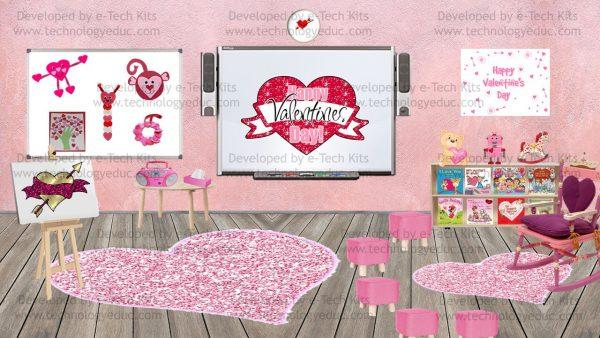 bitmoji valentine template