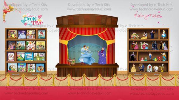 bitmoji fairytale template