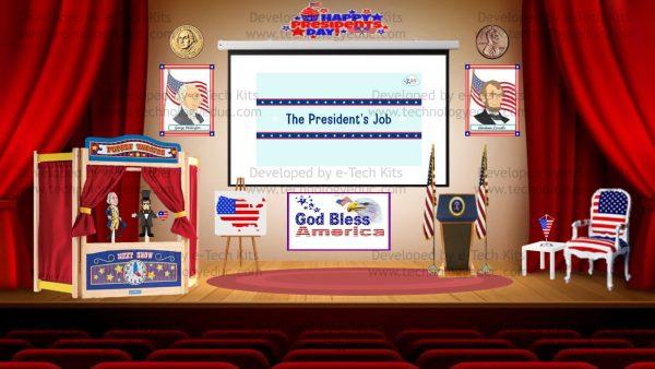 bitmoji presidents day