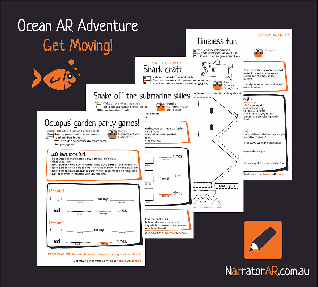 AR Adventure Ocean Get Moving Activity Pack