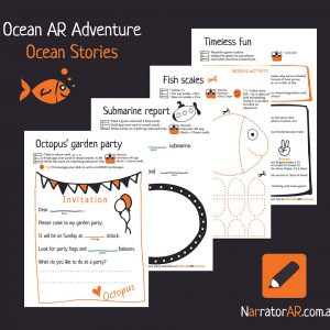 AR Adventure Ocean Stories Activity Pack