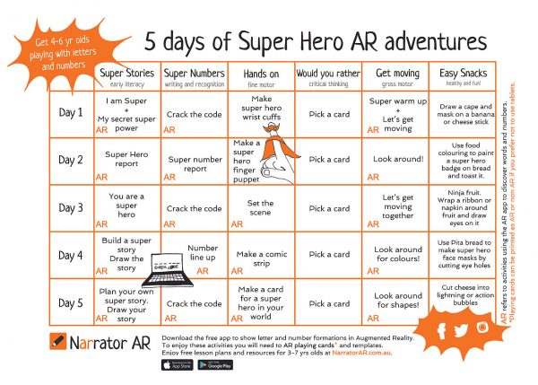 AR Adventure Super Get Moving Activity Pack 1