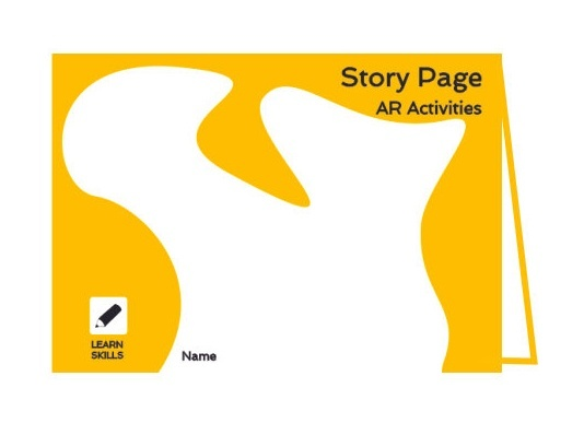 AR Story Pages Activity Book