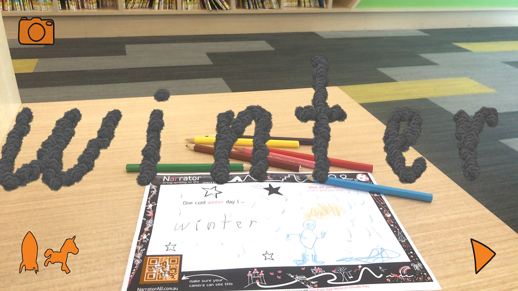 AR Winter Story Prompts