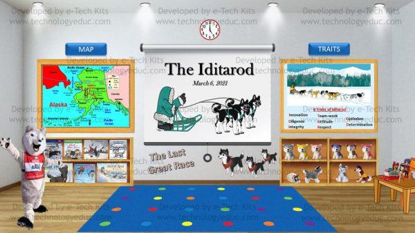 Bitmoji Iditarod Day Template