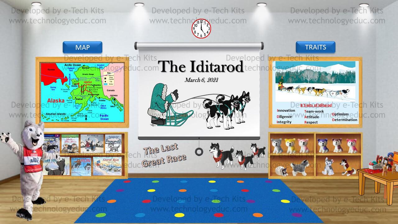 Bitmoji Iditarod Template