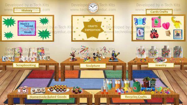 Bitmoji National Craft Month Template