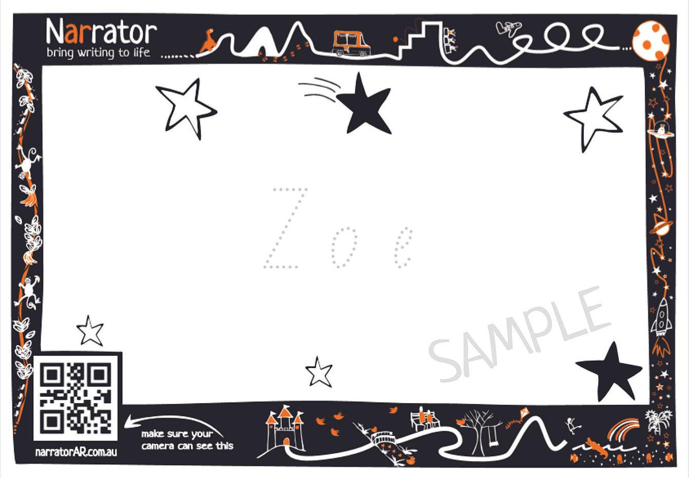 ar custom name template
