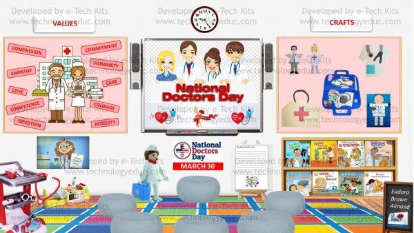 Bitmoji National Doctor's Day Template 1