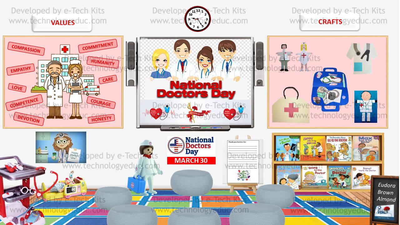 Bitmoji National Doctor's Day Template