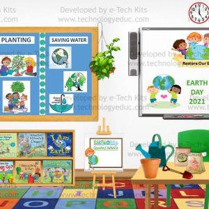 Bitmoji Earth Day Template