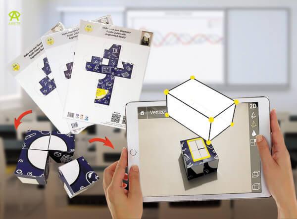 Augmented Reality Geometry Building Blocks 1