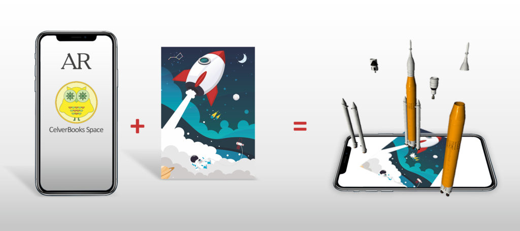 Augmented Reality Puzzle Space Missions and Engineering 3