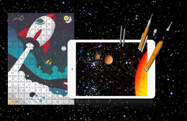 Augmented Reality Puzzle Space Missions and Engineering 2