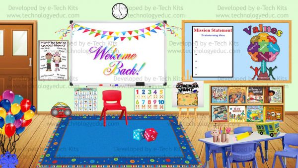 Bitmoji Back to School Template