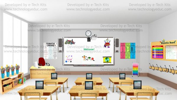 bitmoji elementary classroom